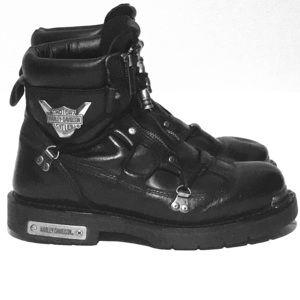 Harley Davidson Men's Brake Light Leather Boots
